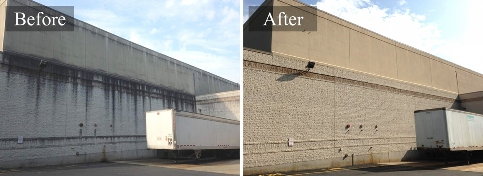commercial Pressure washing portland